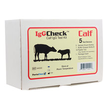 IgGCheck Calf Blood Test Kit