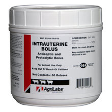 Intrauterine Bolus for Cattle and Sheep