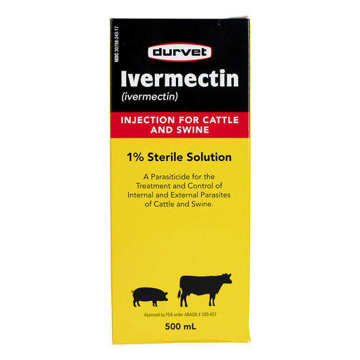 View larger image of Ivermectin Cattle and Swine Injection