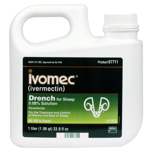 View larger image of Ivomec Sheep Drench Dewormer