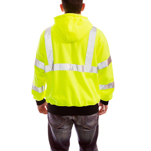View larger image of Job Sight High-Visibility Zip-Up Hoodie
