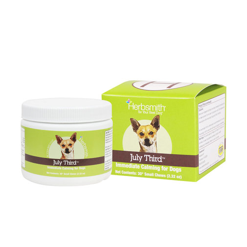 View larger image of July Third Immediate Calming Supplement for Dogs