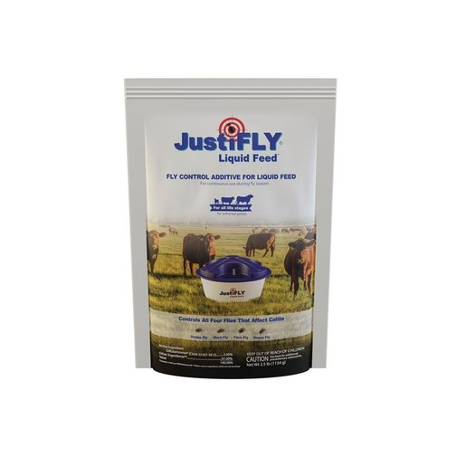 View larger image of JustiFLY Liquid Feed Additive for Cattle
