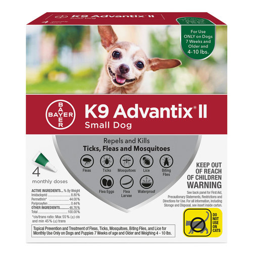 View larger image of K9 Advantix II Flea and Tick Spot-On for Dogs