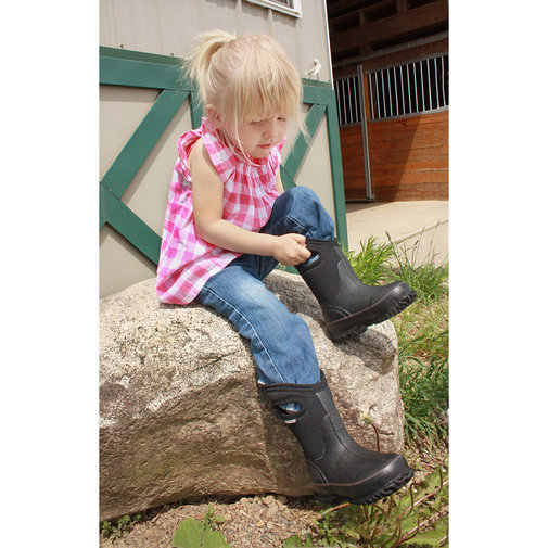 View larger image of Kid's Classic High-Cut Boots with Handle