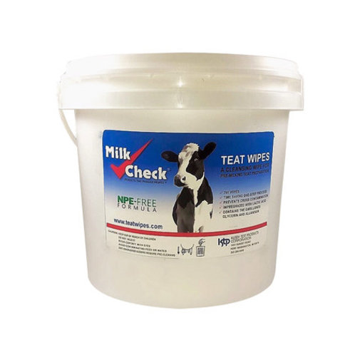 View larger image of Kleen Test Products Milk Check Teat Wipes