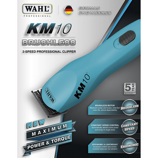 View larger image of KM10 Brushless 2-Speed Clipper
