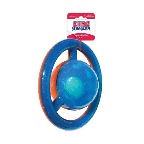 View larger image of KONG Jumbler Disc Dog Toy