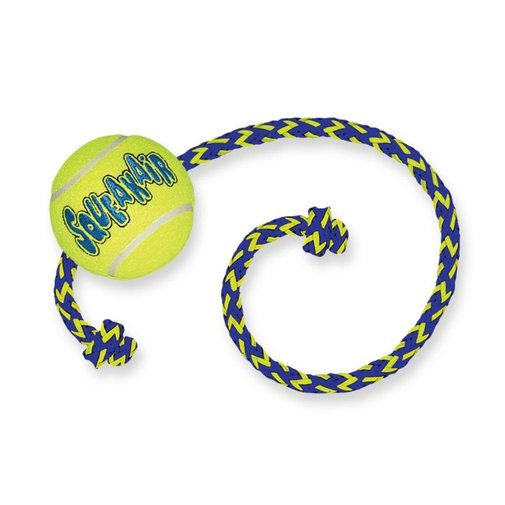 View larger image of KONG SqueakAir Ball with Rope