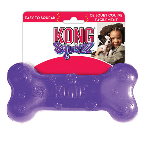 View larger image of KONG Squeezz Bone Dog Toy