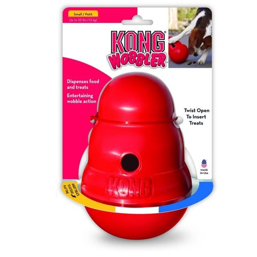 View larger image of KONG Wobbler Dog Toy