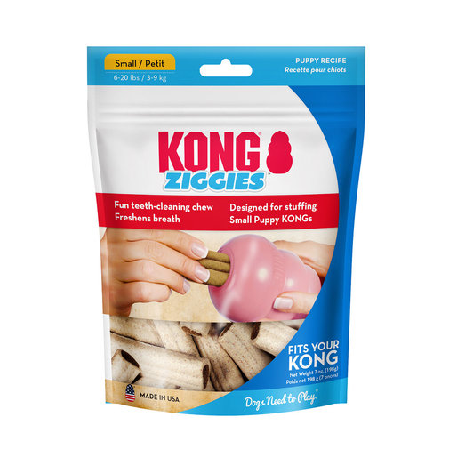 View larger image of KONG Ziggies Dental Treats for Puppies