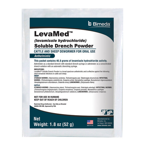 View larger image of LevaMed Cattle and Sheep Dewormer Soluble Drench