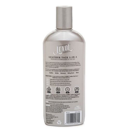 View larger image of Lexol Leather Tack 3-in-1 Quick Care Formula