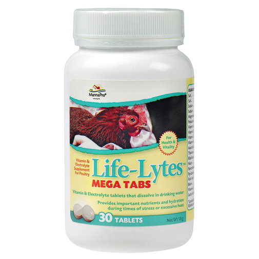 View larger image of Life-Lytes Mega Tabs Poultry Supplement