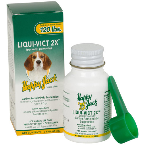 View larger image of Liqui-Vict 2X Dog Dewormer