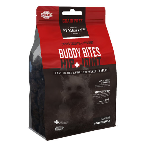 View larger image of Majesty's Buddy Bites Hip + Joint Grain-Free Wafers Supplement for Dogs