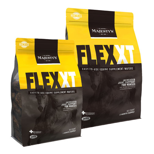 View larger image of Majesty's Flex XT Wafers Increased Joint Support Supplement for Horses