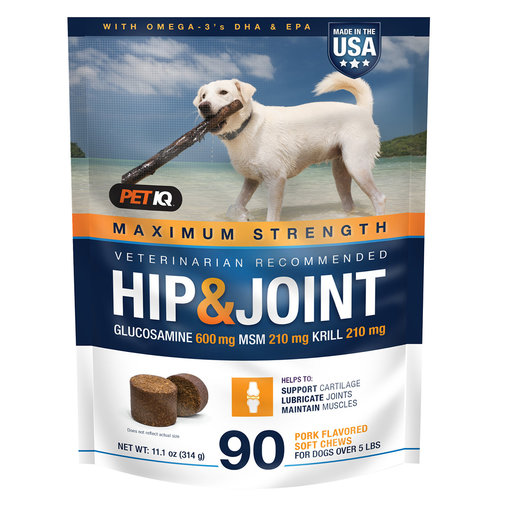 View larger image of Maximum Strength Hip & Joint Supplement for Dogs