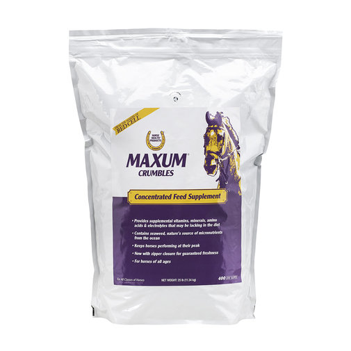 View larger image of Maxum Crumbles Concentrated Feed Supplement for Horses