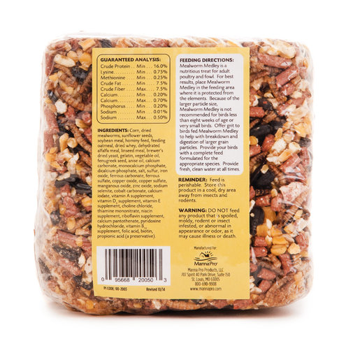 View larger image of Mealworm Medley Poultry Treat