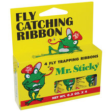Mr. Sticky Fly Catching Ribbon