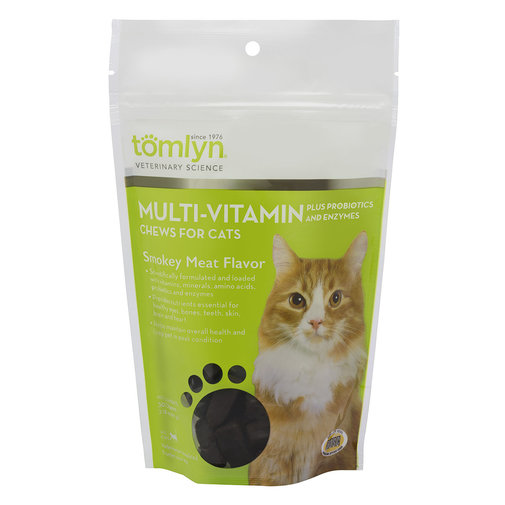 View larger image of Multi-Vitamin Plus Probiotics and Enzymes Chews for Cats