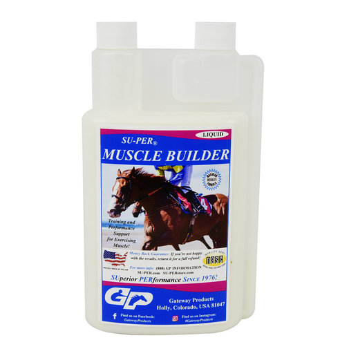 View larger image of SU-PER Muscle Builder Horse Supplement