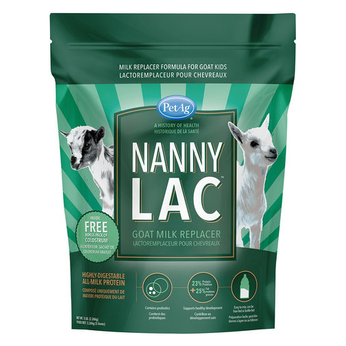 View larger image of Nanny-Lac Goat Milk Replacer
