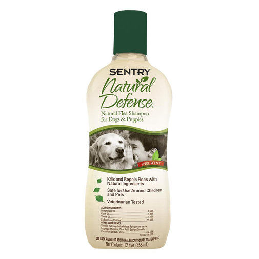 View larger image of Natural Defense Flea Shampoo for Dogs