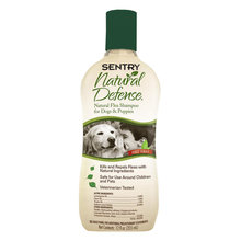 Natural Defense Flea Shampoo for Dogs
