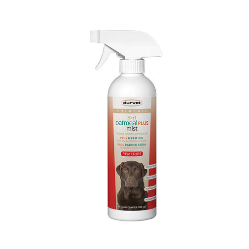 View larger image of Naturals Remedies 3 in 1 Oatmeal PLUS Mist for Dogs and Cats
