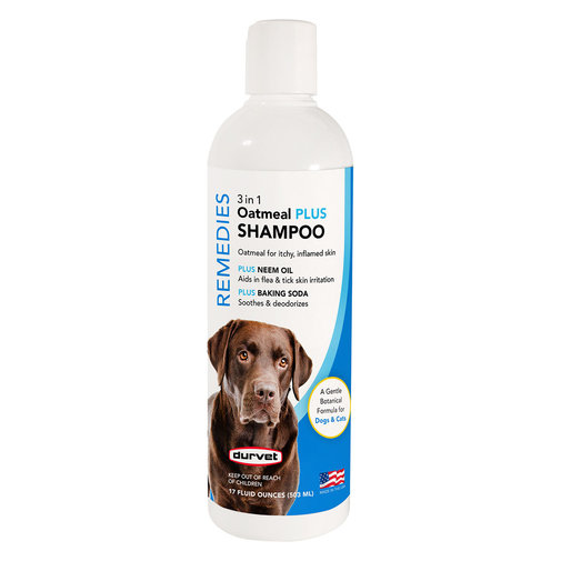 View larger image of Naturals Remedies 3 in 1 Oatmeal PLUS Shampoo for Dogs and Cats