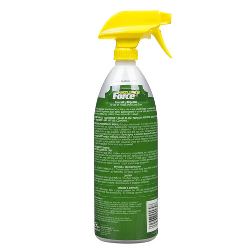 View larger image of Nature's Force Natural Fly Repellent Spray