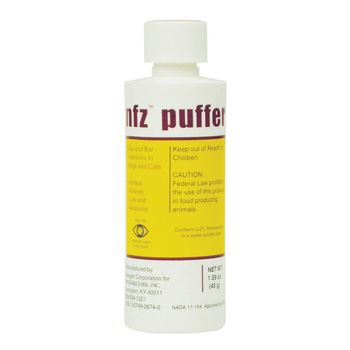 View larger image of NFZ Puffer - Nitrofurazone Powder