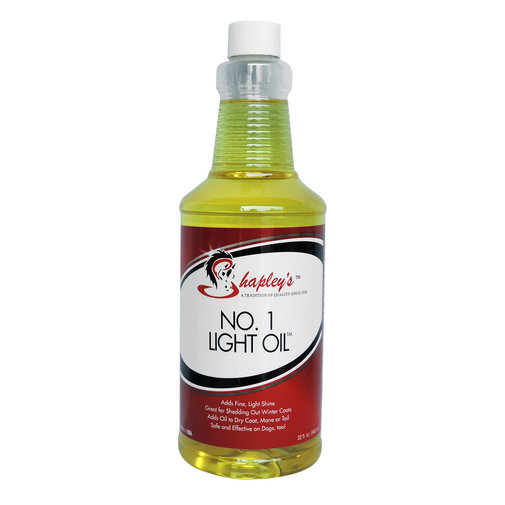 View larger image of No. 1 Light Oil for Horses and Dogs