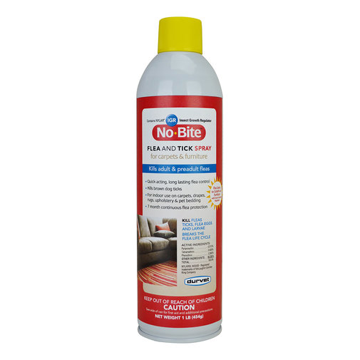 View larger image of No-Bite IGR Flea and Tick Spray for Carpets & Furniture