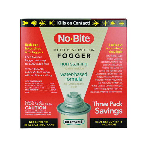 View larger image of No-Bite Multi-Pest Indoor Fogger