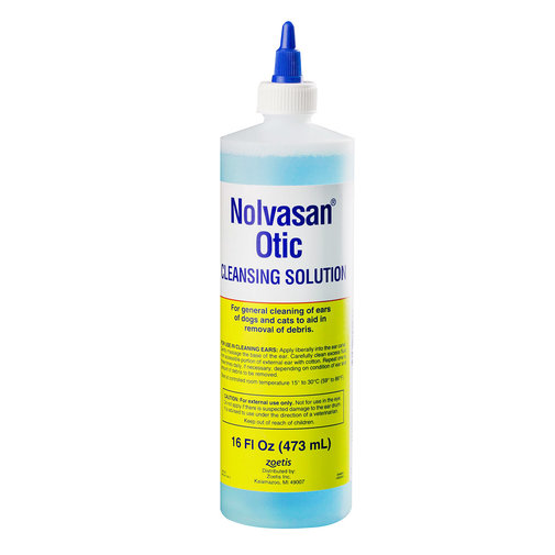 View larger image of Nolvasan Otic Cleansing Solution
