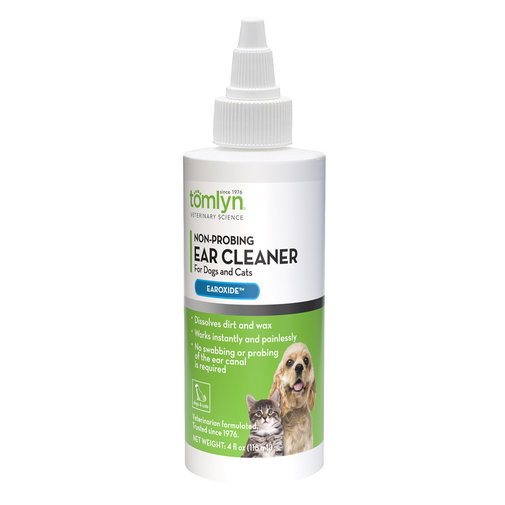 View larger image of Non-Probing Ear Cleaner (Earoxide) for Dogs and Cats