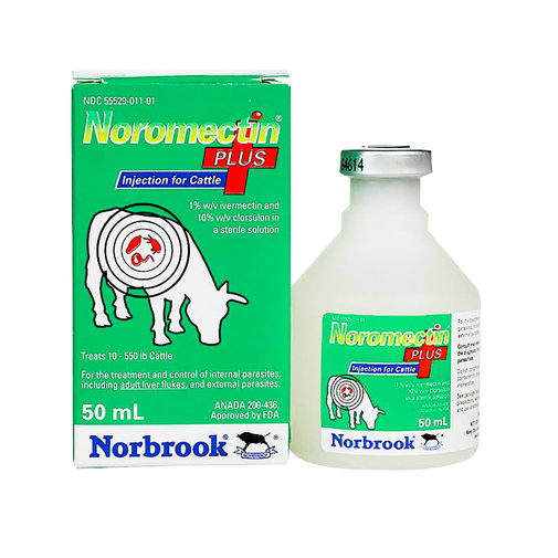 View larger image of Noromectin Plus Cattle Dewormer Injection