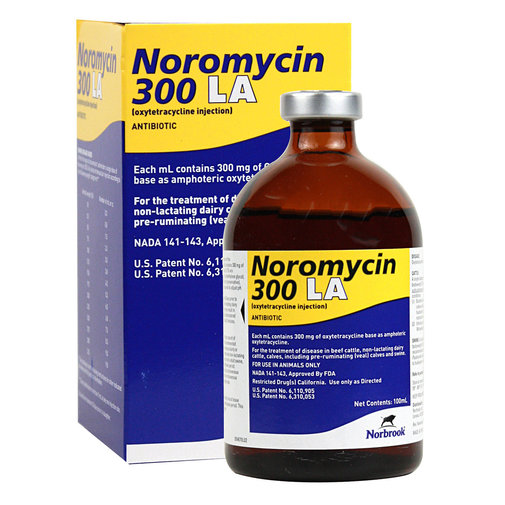 View larger image of Noromycin 300 LA
