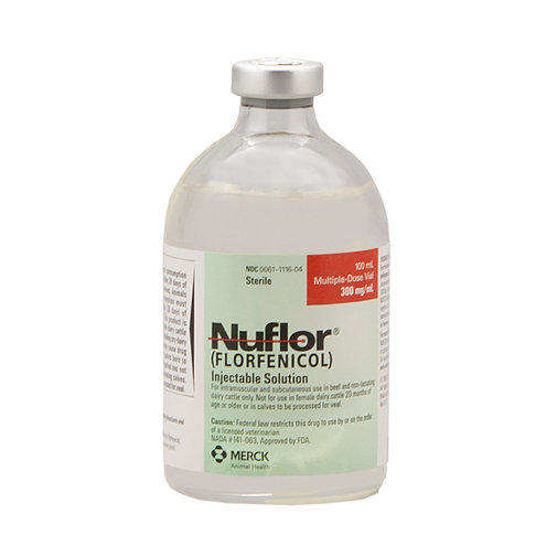 View larger image of Nuflor Injectable Rx