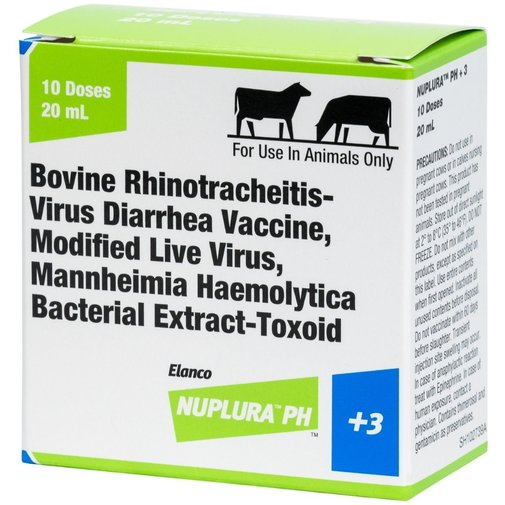 View larger image of Nuplura PH +3 Cattle Vaccine