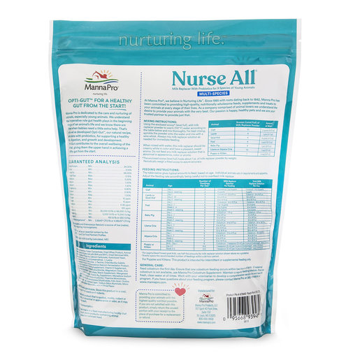 View larger image of Nurse All Multi-Species Milk Replacer