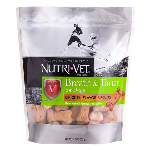 View larger image of Nutri-Vet Breath & Tartar Biscuits for Dogs
