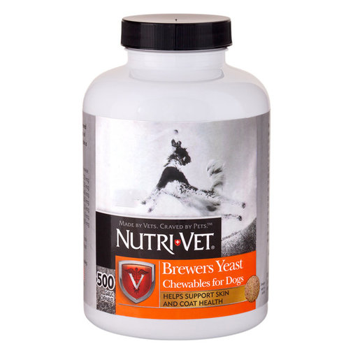 View larger image of Nutri-Vet Brewers Yeast Chewables for Dogs