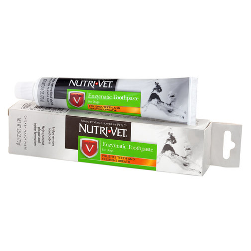 View larger image of Nutri-Vet Enzymatic Toothpaste for Dogs