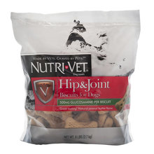 Nutri-Vet Extra Strength Hip & Joint Biscuits for Dogs