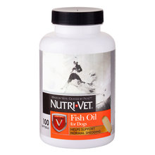Nutri-Vet Fish Oil Softgels for Dogs